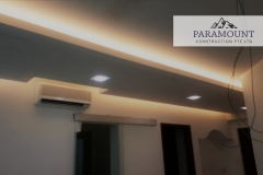 Woodsvale Condo Covelight false ceiling